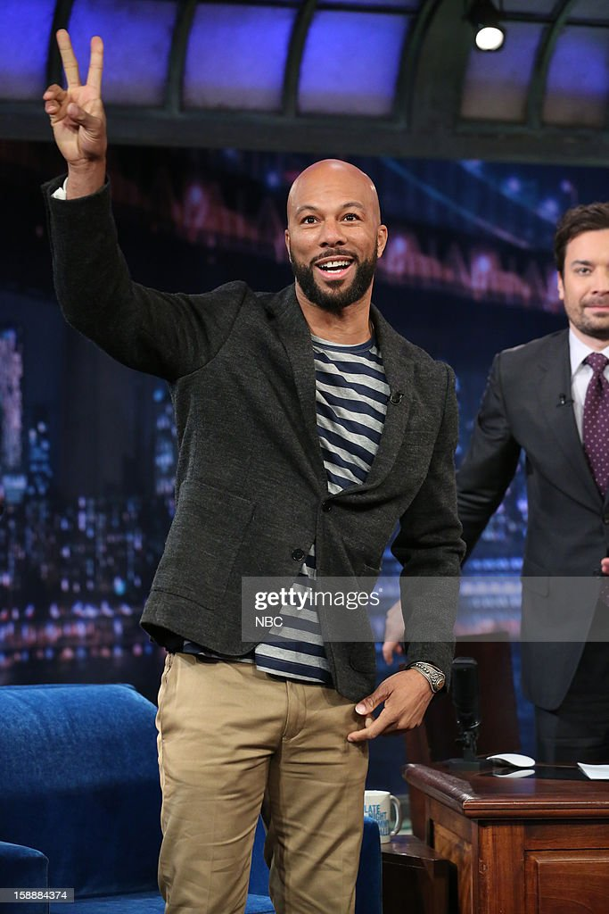 Common arrives on January 2, 2013 --