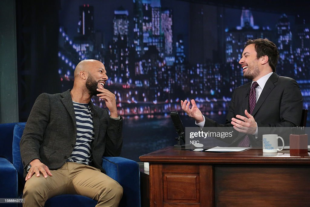 Common during an interview with host Jimmy Fallon on January 2, 2013 --