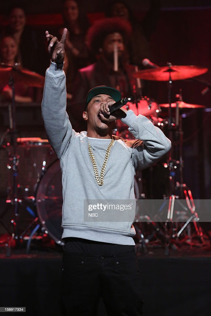 Musical guest T.I. performs on January 3, 2013 --