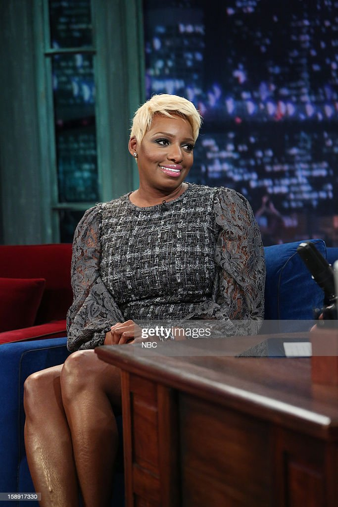 <a gi-track='captionPersonalityLinkClicked' href=/galleries/search?phrase=NeNe+Leakes&family=editorial&specificpeople=5446374 ng-click='$event.stopPropagation()'>NeNe Leakes</a> during an interview on January 3, 2013 --