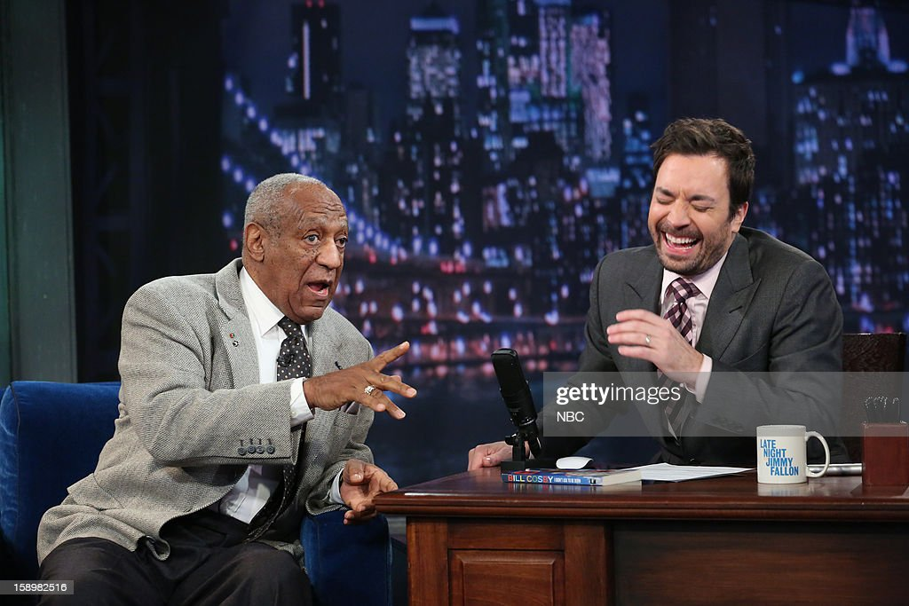 Bill Cosby during an interview with host Jimmy Fallon on January 4, 2013 --