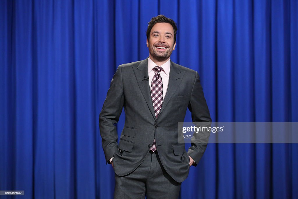 Host Jimmy Fallon during a skit on January 4, 2013 --