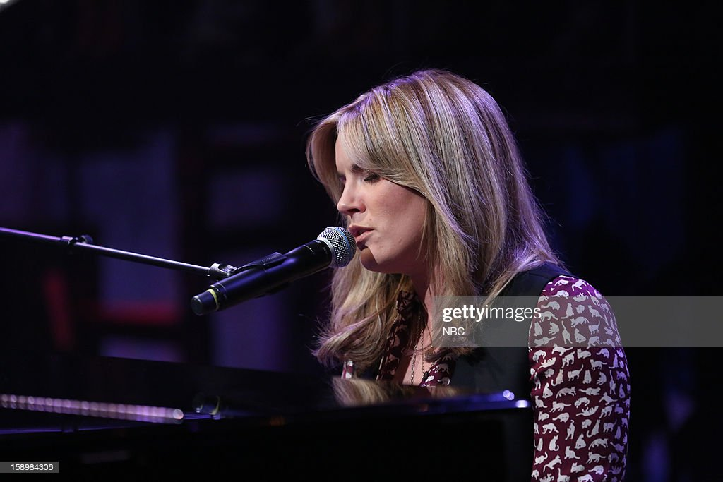 Musical guest <a gi-track='captionPersonalityLinkClicked' href=/galleries/search?phrase=Grace+Potter&family=editorial&specificpeople=2963080 ng-click='$event.stopPropagation()'>Grace Potter</a> performs on January 4, 2013 --