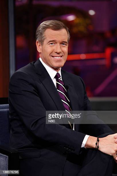 NBC Nightly News anchor Brian Williams on January 8 2010