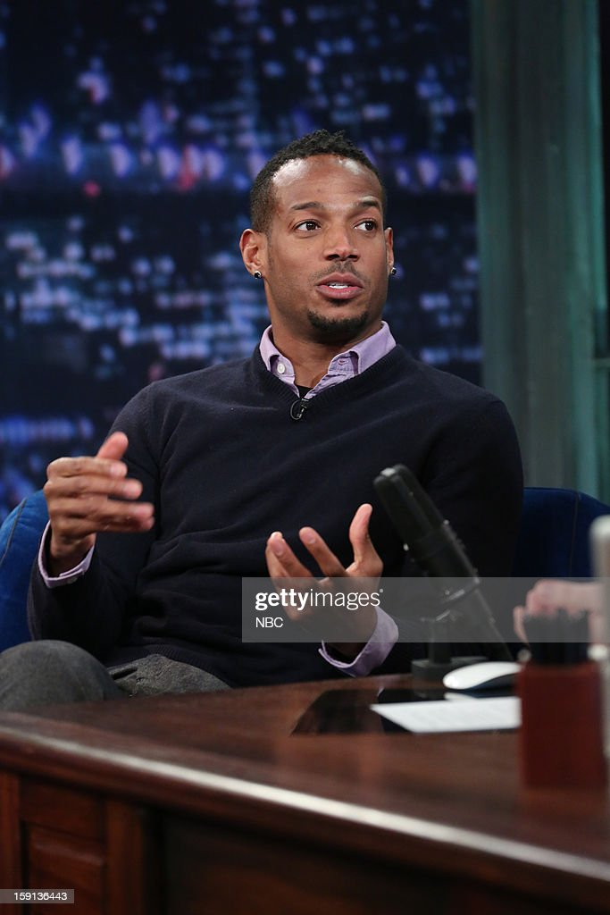 <a gi-track='captionPersonalityLinkClicked' href=/galleries/search?phrase=Marlon+Wayans&family=editorial&specificpeople=203226 ng-click='$event.stopPropagation()'>Marlon Wayans</a> during an interview on January 8, 2013 --