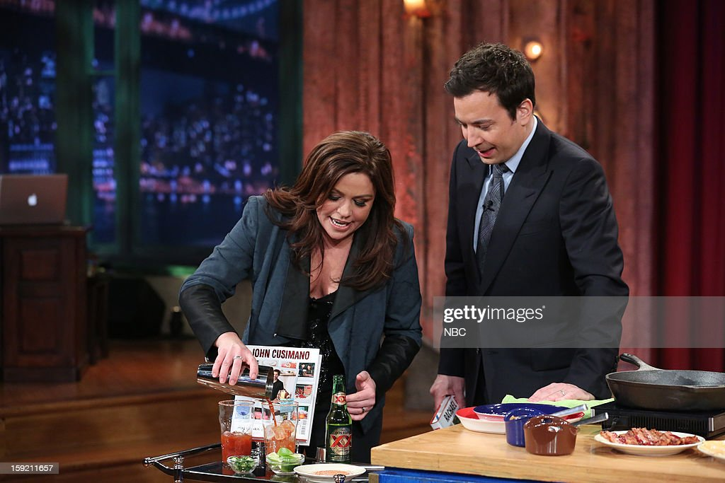 Rachael Ray during a skit with host Jimmy Fallon on January 9, 2013 --