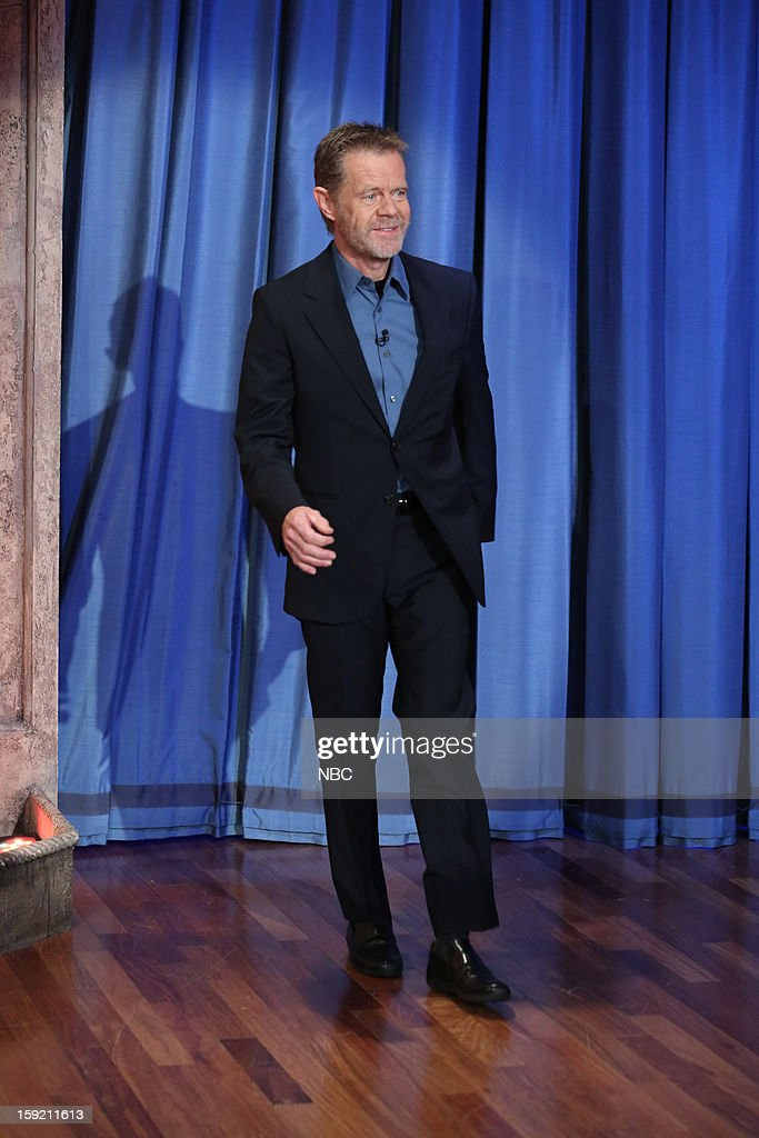 William H. Macy arrives on January 9, 2013 --