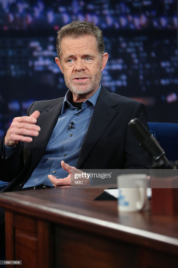 William H. Macy during an interview on January 9, 2013 --