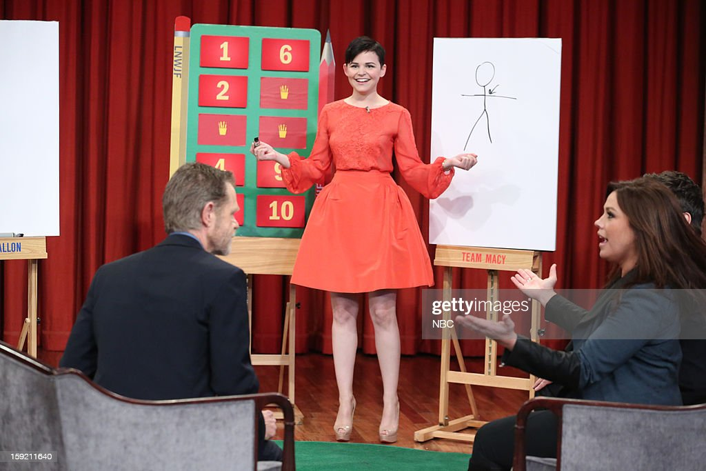 William H. Macy, Ginnifer Goodwin, and Rachael Ray on January 9, 2013 --