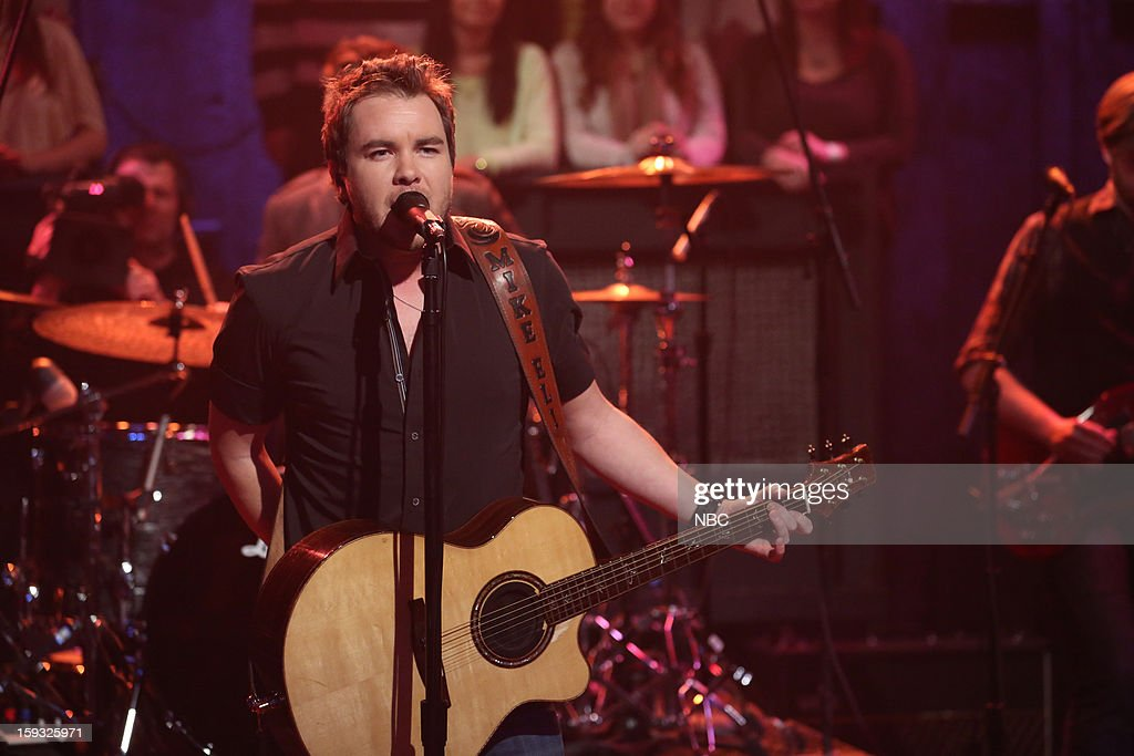 Eli Young Band's Mike Eli on January 11, 2013 --