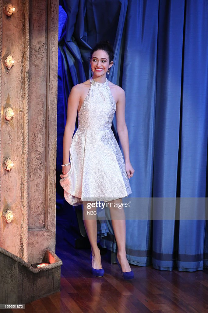 <a gi-track='captionPersonalityLinkClicked' href=/galleries/search?phrase=Emmy+Rossum&family=editorial&specificpeople=202563 ng-click='$event.stopPropagation()'>Emmy Rossum</a> arrives on January 15, 2013 --
