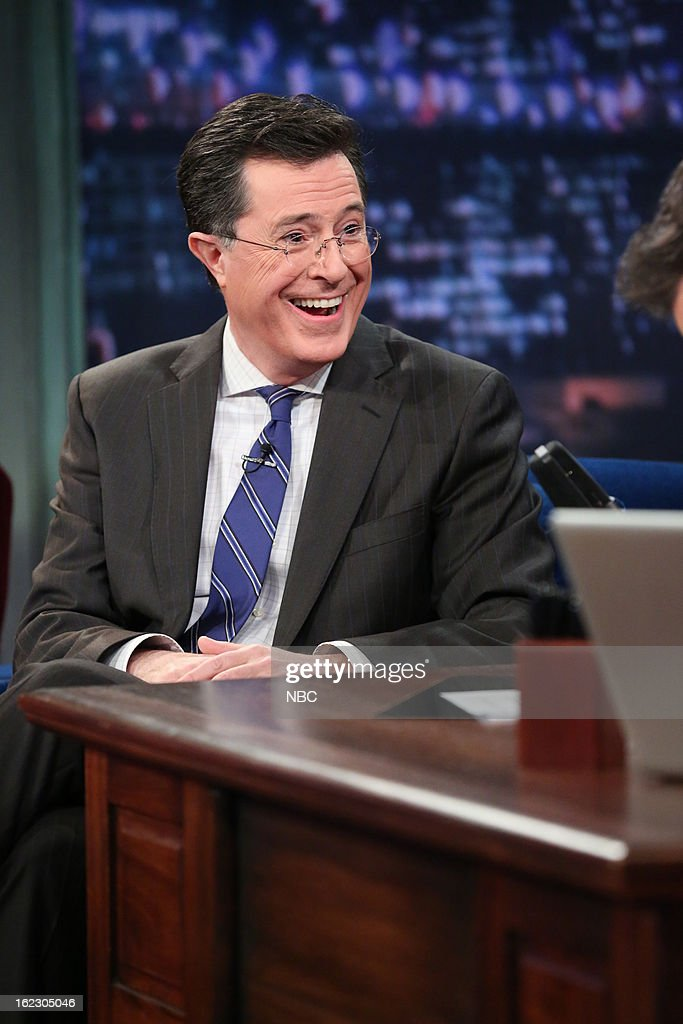 <a gi-track='captionPersonalityLinkClicked' href=/galleries/search?phrase=Stephen+Colbert&family=editorial&specificpeople=215133 ng-click='$event.stopPropagation()'>Stephen Colbert</a> on February 21, 2013 --