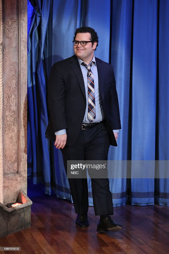 Josh Gad arrives on January 18, 2013 --