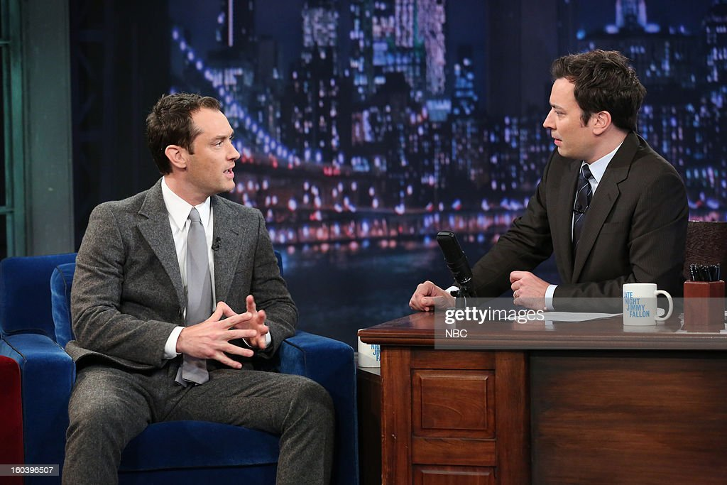 Jude Law, Jimmy Fallon --