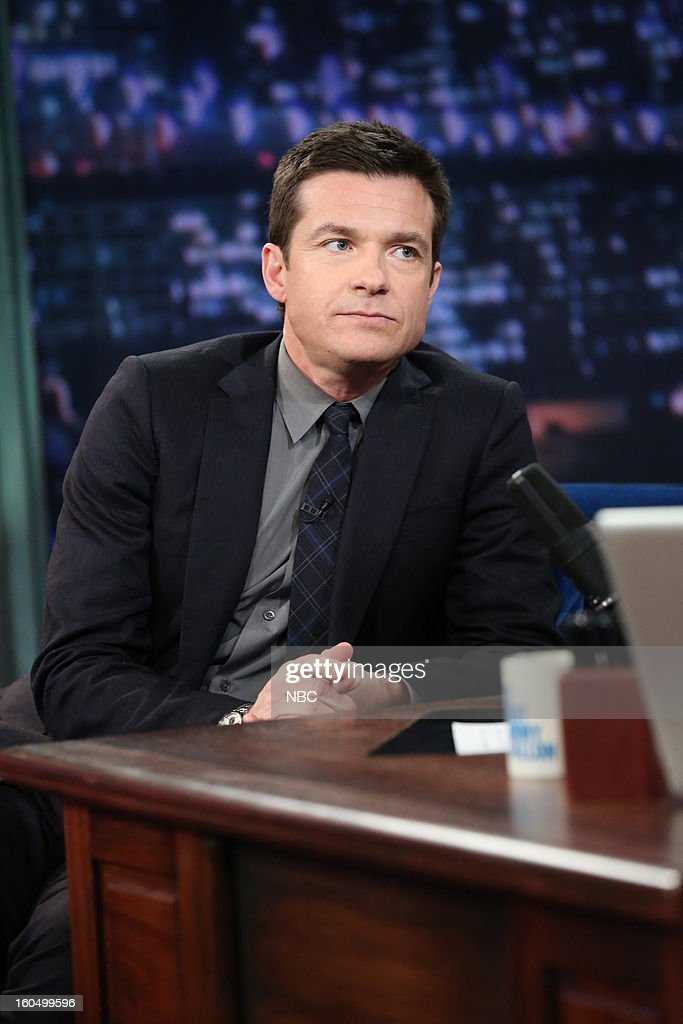 Actor <a gi-track='captionPersonalityLinkClicked' href=/galleries/search?phrase=Jason+Bateman&family=editorial&specificpeople=204774 ng-click='$event.stopPropagation()'>Jason Bateman</a> during an interview on February 1, 2013 --