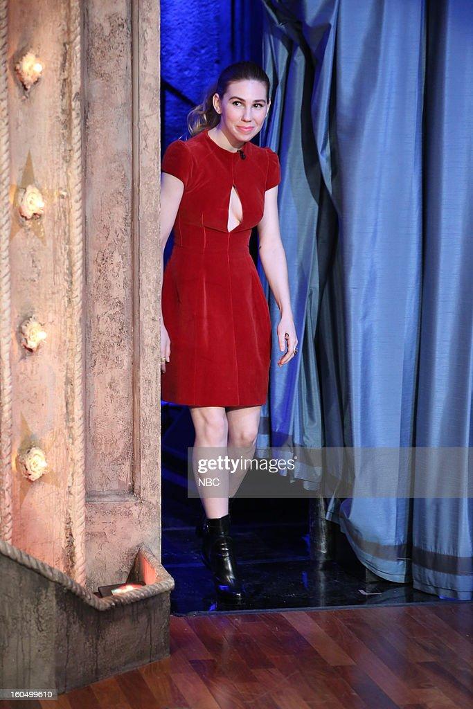 Actress Zosia Mamet on February 1, 2013--