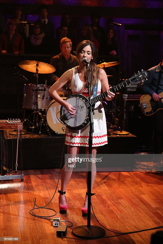 Musical guest Kacey Musgraves on February 13, 2013 --