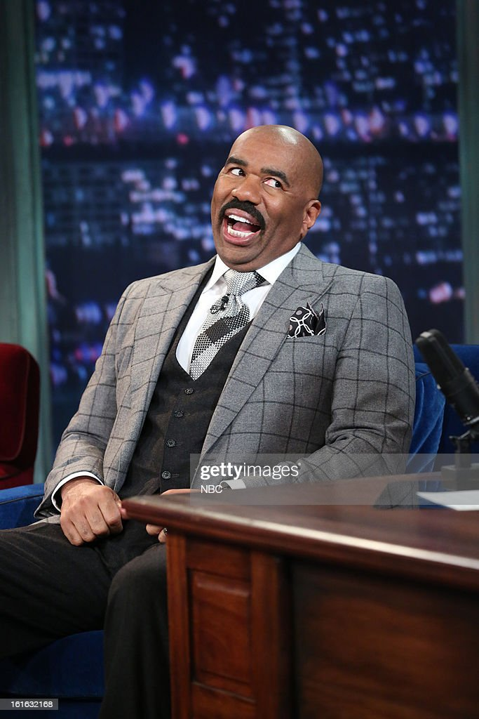 Steve Harvey on February 13, 2013 --