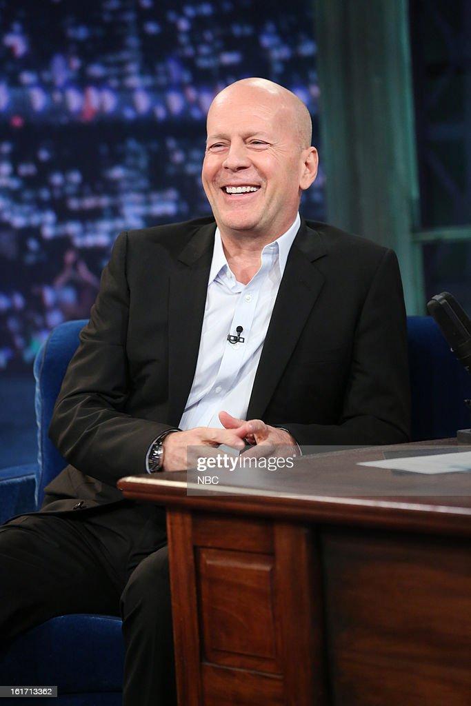 Bruce Willis on February 14, 2013 --