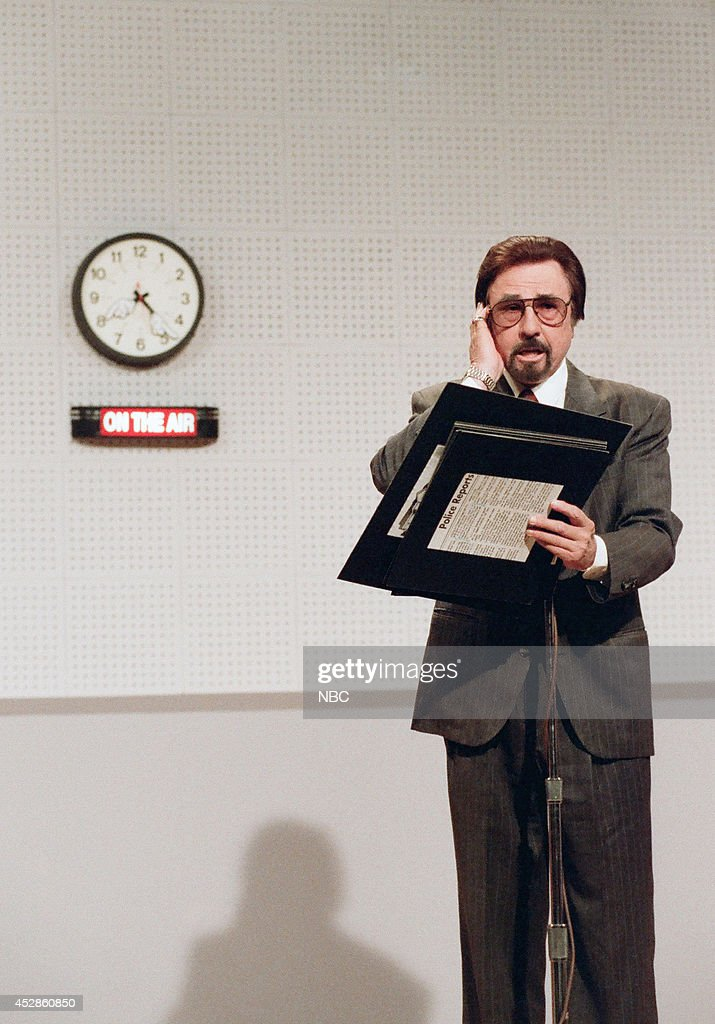 Voice actor Gary Owens during the Headlines on October 23 1995