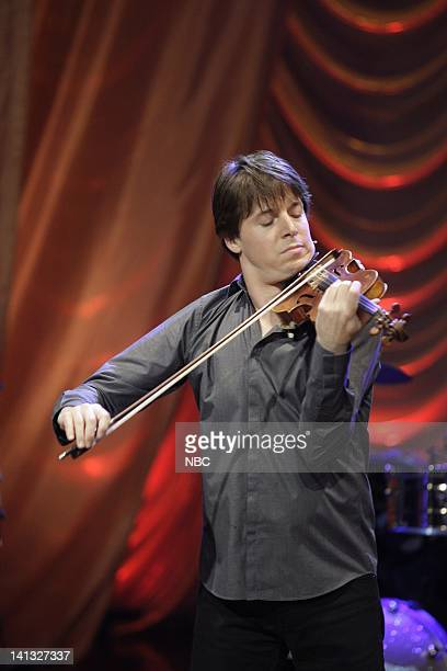 BRIEN Episode 79 Air Date Pictured Joshua Bell on October 02 2009 Photo by Paul Drinkwater/NBCU Photo Bank