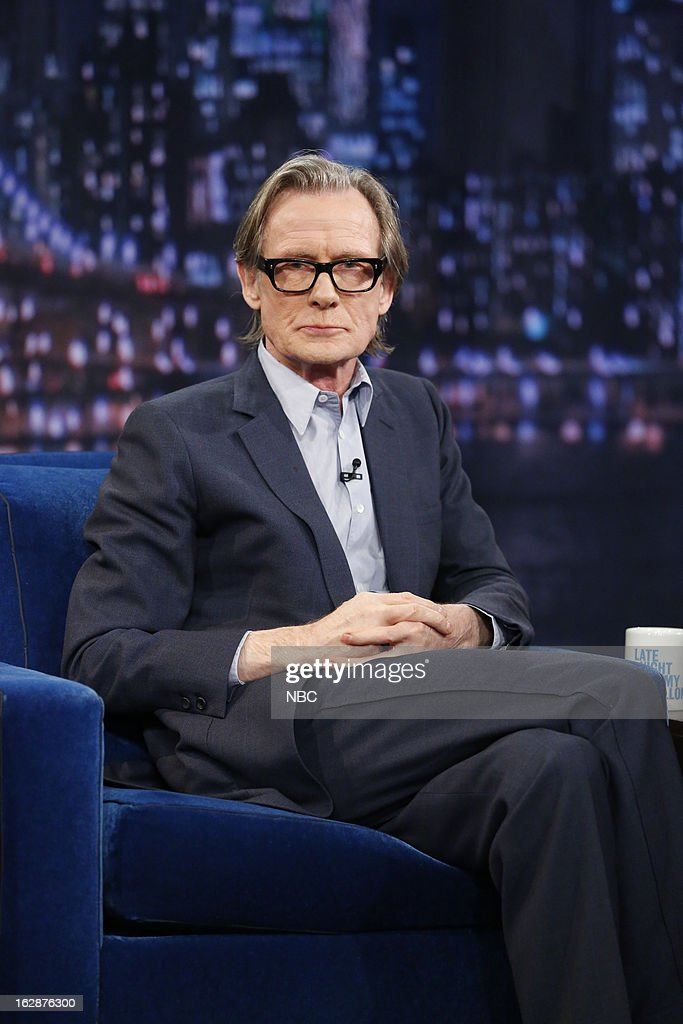 Actor <a gi-track='captionPersonalityLinkClicked' href=/galleries/search?phrase=Bill+Nighy&family=editorial&specificpeople=201599 ng-click='$event.stopPropagation()'>Bill Nighy</a> on February 28, 2013 --