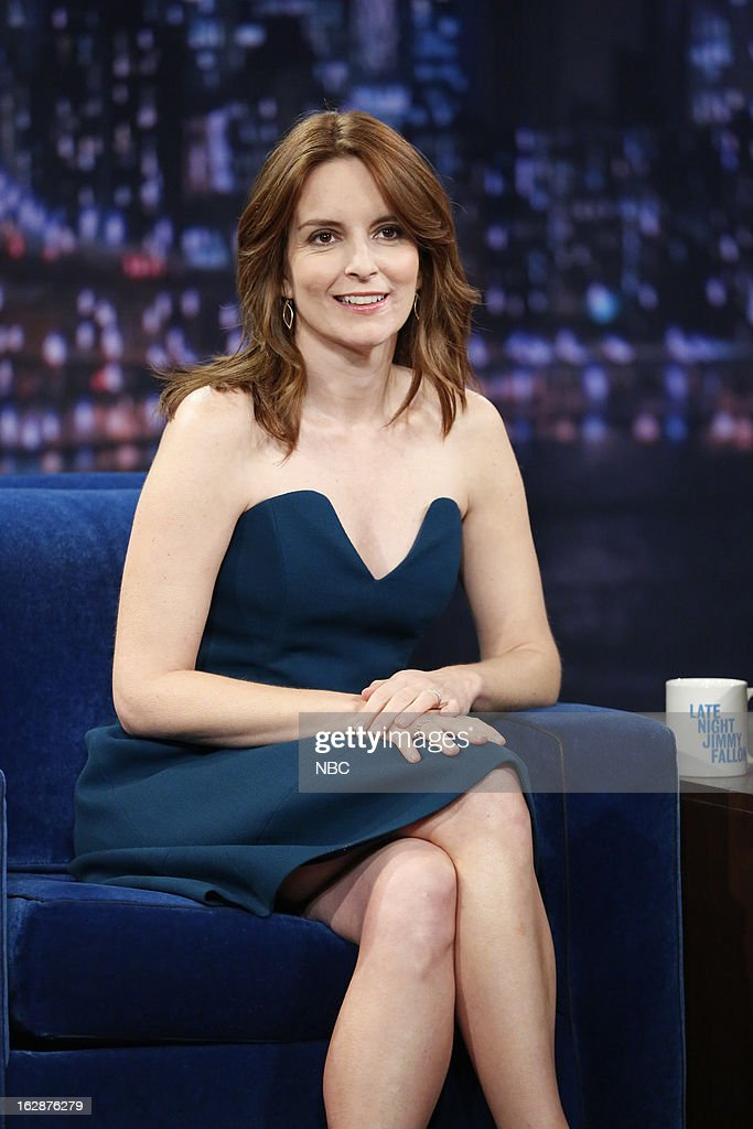 Actress Tina Fey on February 28, 2013 --