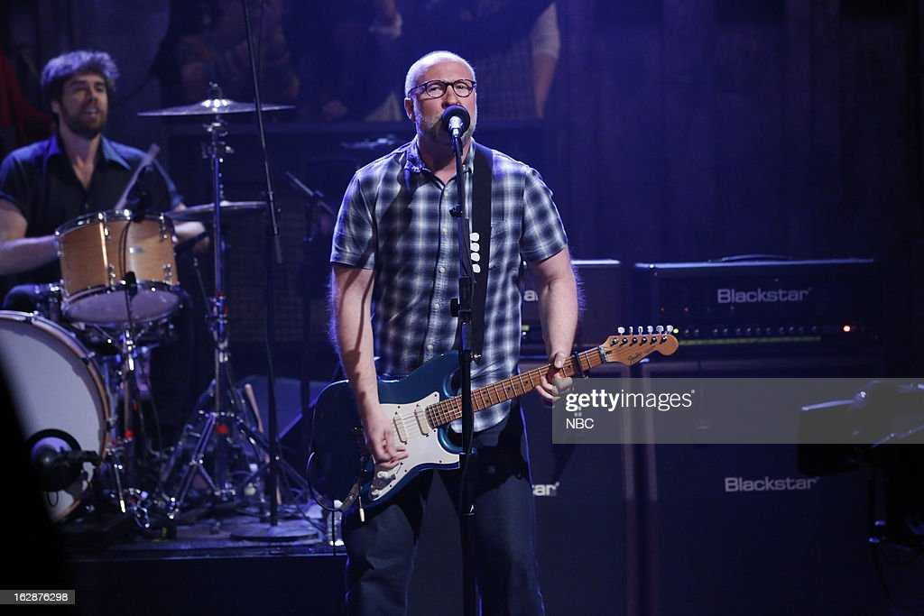 Musical guest Bob Mould on February 28, 2013 --