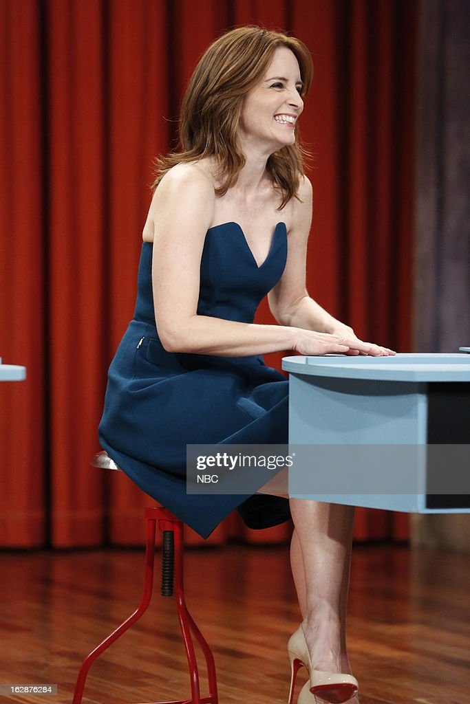 Tina Fey during a skit on February 28, 2013 --
