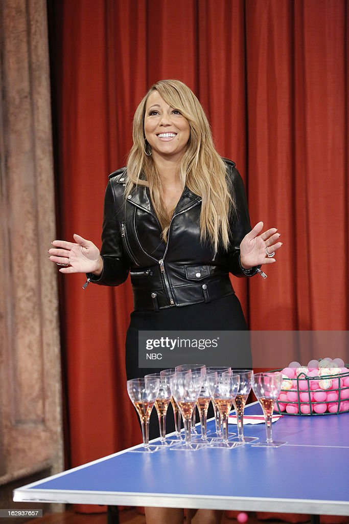 Mariah Carey during a skit on March 1, 2013 --