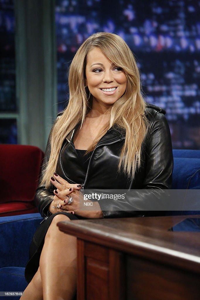 Mariah Carey on March 1, 2013 --