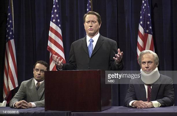 LIVE Episode 8 Air Date Pictured Chris Kattan as Sydney Shiner Darrell Hammond as Vice President Al Gore Chris Parnell as Senator Joe Lieberman...
