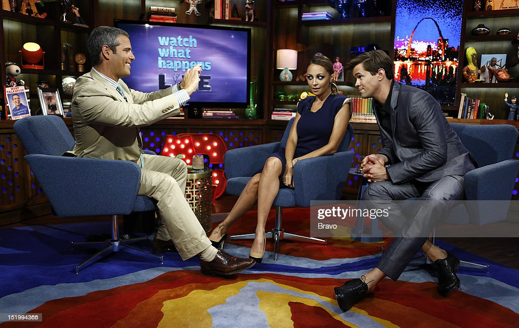 Andy Cohen, Nicole Richie, Andrew Reynolds --