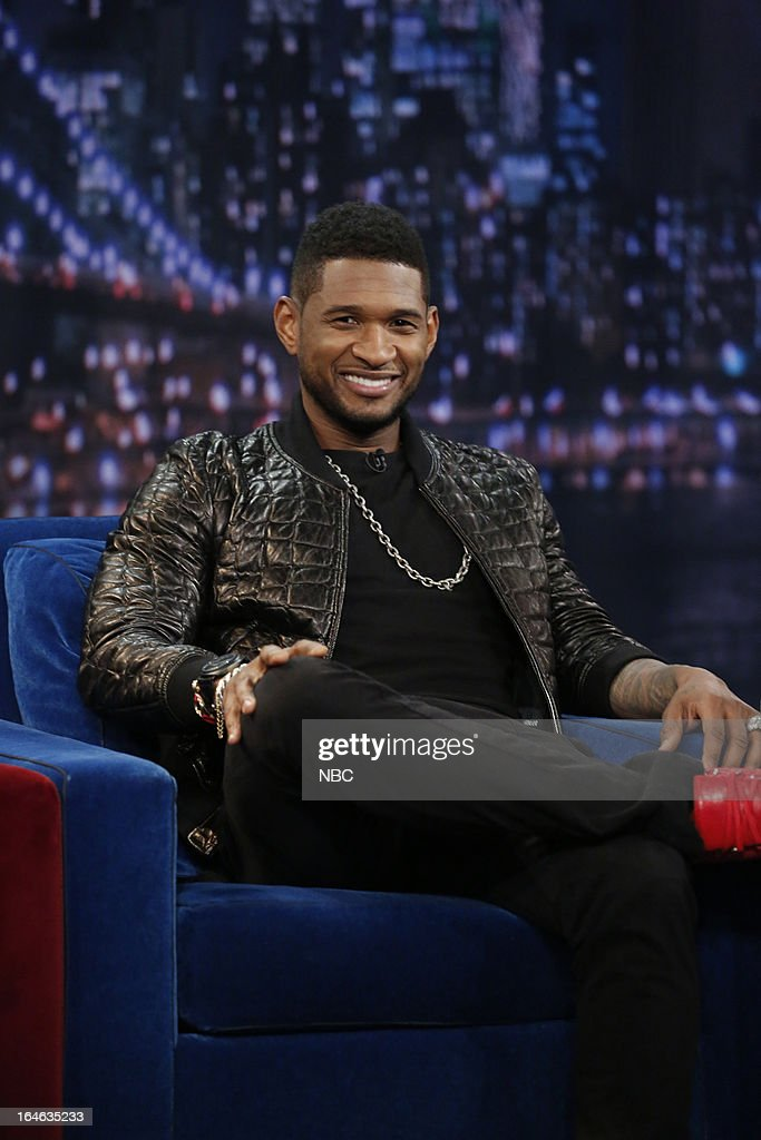 Singer Usher Raymond on March 25, 2013 --