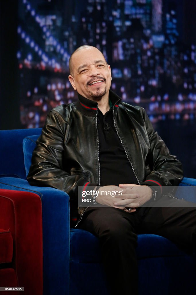 Actor/rapper Ice-T on March 26, 2013 --