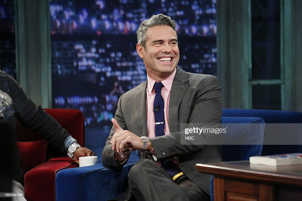 Talk show host Andy Cohen on April 2, 2013 --