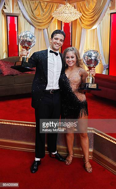 SHOW 'Episode 811A' After ten weeks of entertaining drama surprises and dazzling performances Shawn Johnson and her professional partner Mark Ballas...