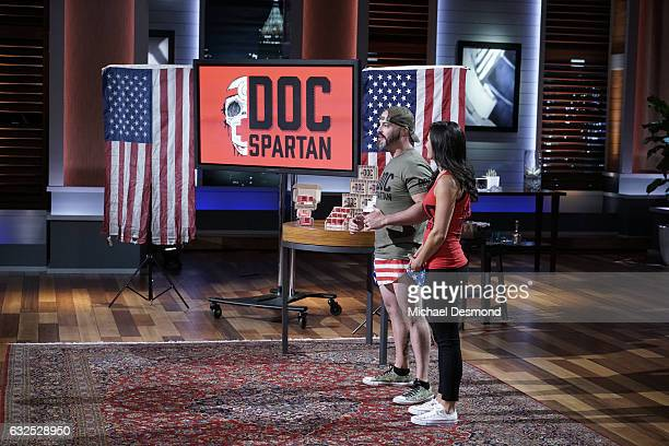 TANK 'Episode 816' A firefighter and his wife hope the Sharks make a smoking hot deal for their durable bags made from gear that protects on the...