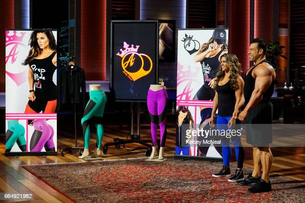 TANK 'Episode 820' Newlyweds and bodybuilders from Dallas Texas married strength with glamour and created a fitness apparel line that caters to the...