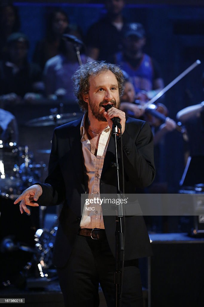 Musical guest Phosphorescent performs on April 23, 2013 --