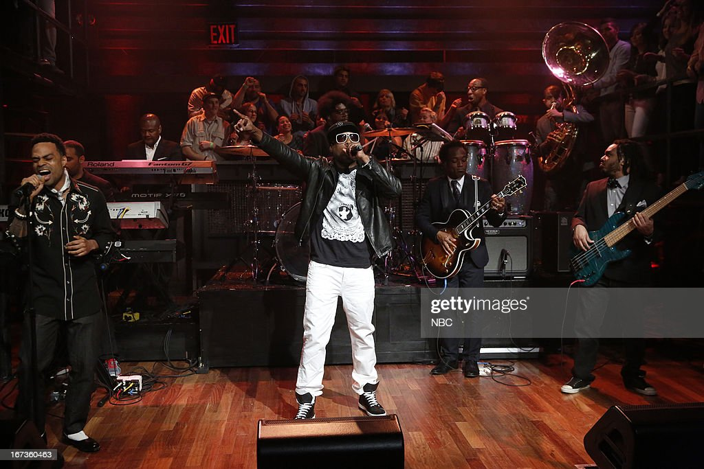 Musicla guest <a gi-track='captionPersonalityLinkClicked' href=/galleries/search?phrase=Talib+Kweli&family=editorial&specificpeople=540348 ng-click='$event.stopPropagation()'>Talib Kweli</a> performs on April 24, 2013 --