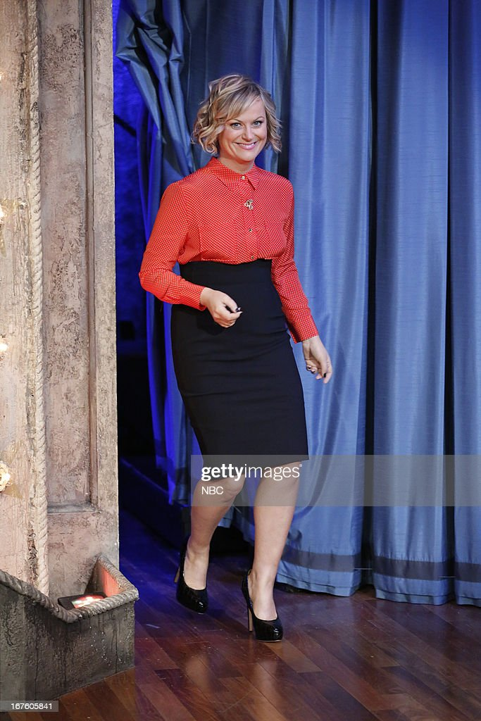 <a gi-track='captionPersonalityLinkClicked' href=/galleries/search?phrase=Amy+Poehler&family=editorial&specificpeople=228430 ng-click='$event.stopPropagation()'>Amy Poehler</a> arrives on April 26, 2013 --