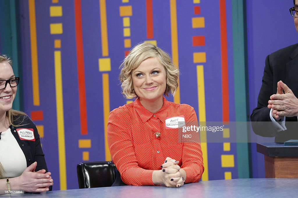 <a gi-track='captionPersonalityLinkClicked' href=/galleries/search?phrase=Amy+Poehler&family=editorial&specificpeople=228430 ng-click='$event.stopPropagation()'>Amy Poehler</a> during a skit on April 26, 2013 --