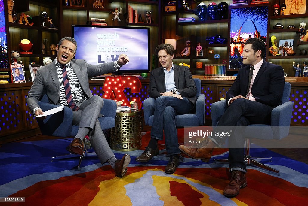 Andy Cohen, Andrew McCarthy, Max Greenfield --