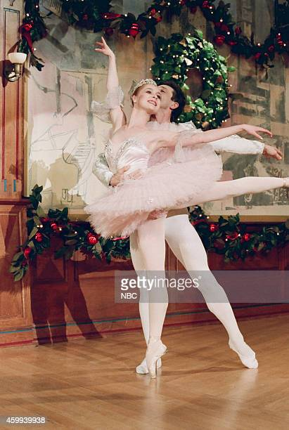 The Long Beach Ballet performs excerpts from 'The Nutcracker' during the 'Headlines' segment on December 11 1995