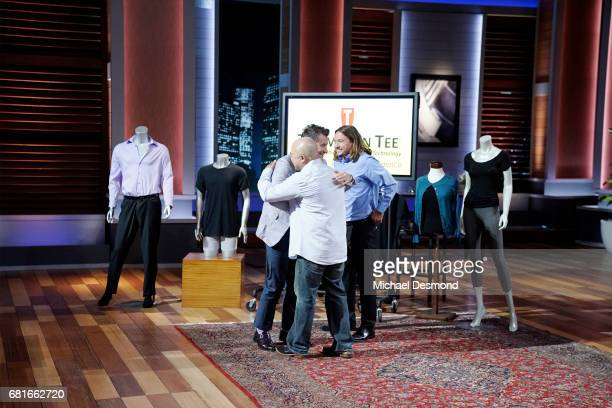 TANK 'Episode 824' Two entrepreneurs from Placentia California pitch their solution to embarrassing underarm sweat marks and stains brothers and best...