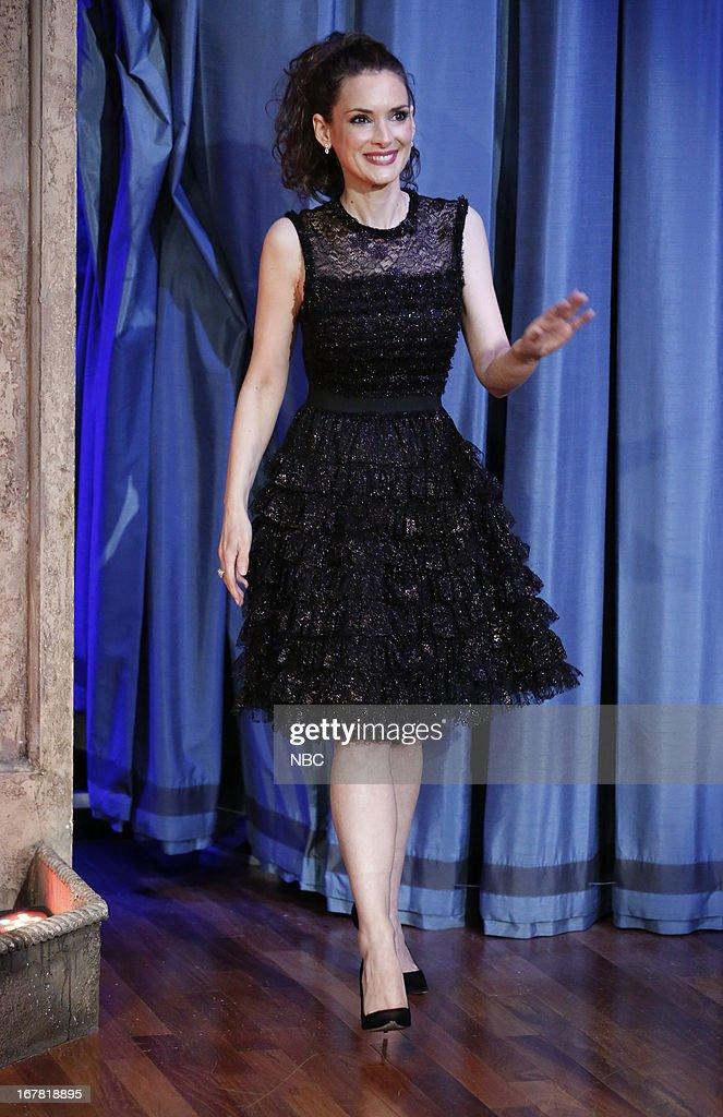 Actress Winona Ryder on April 30, 2013--