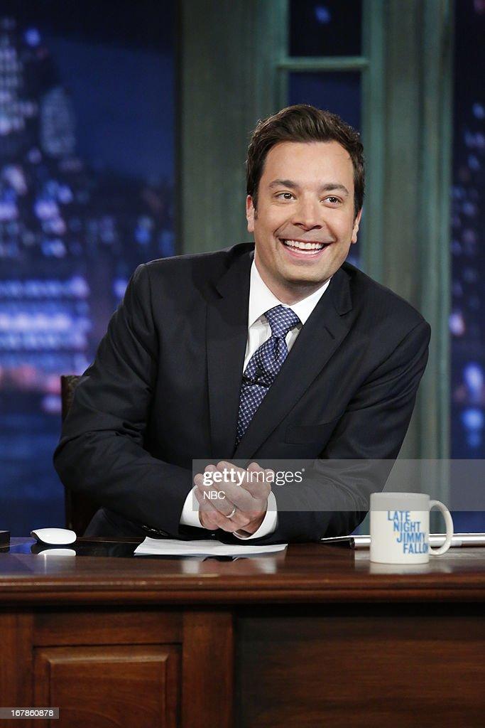 Host Jimmy Fallon on May 1, 2013 --