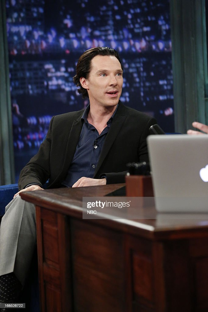 Actor <a gi-track='captionPersonalityLinkClicked' href=/galleries/search?phrase=Benedict+Cumberbatch&family=editorial&specificpeople=2487879 ng-click='$event.stopPropagation()'>Benedict Cumberbatch</a> on May 10, 2013 --