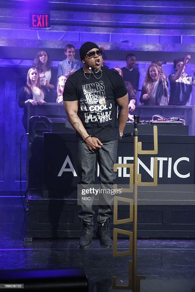 Musical guest LL CooL J performs on May 10, 2013 --